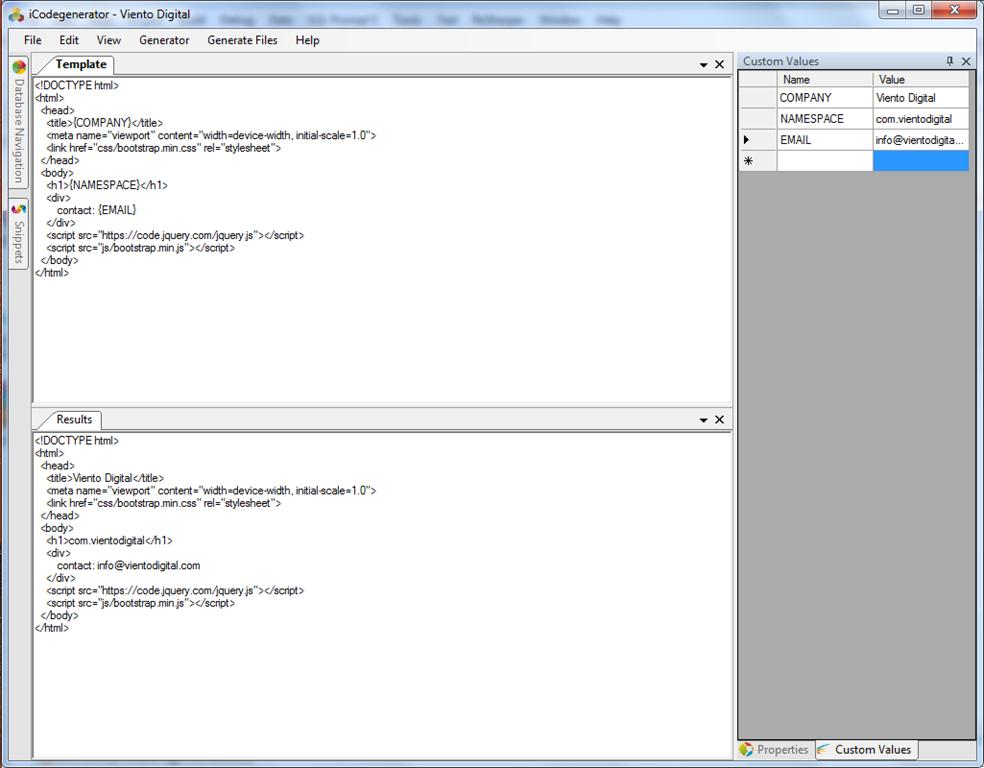 Icodegenerator Free Open Source Codegenerator By Viento Digital